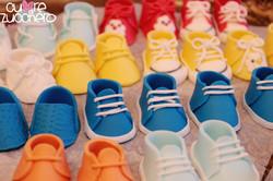 Mini shoes, scarpette cake topper