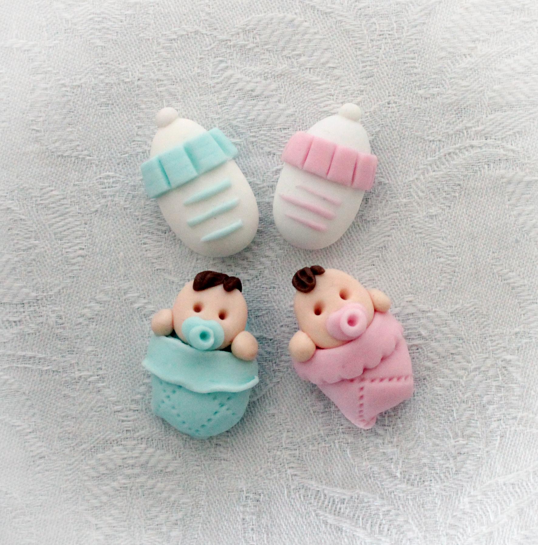 Confetti decorati nascita battesimo