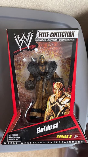 Goldust super Rare elite!! Signed with Meet and Greet!!