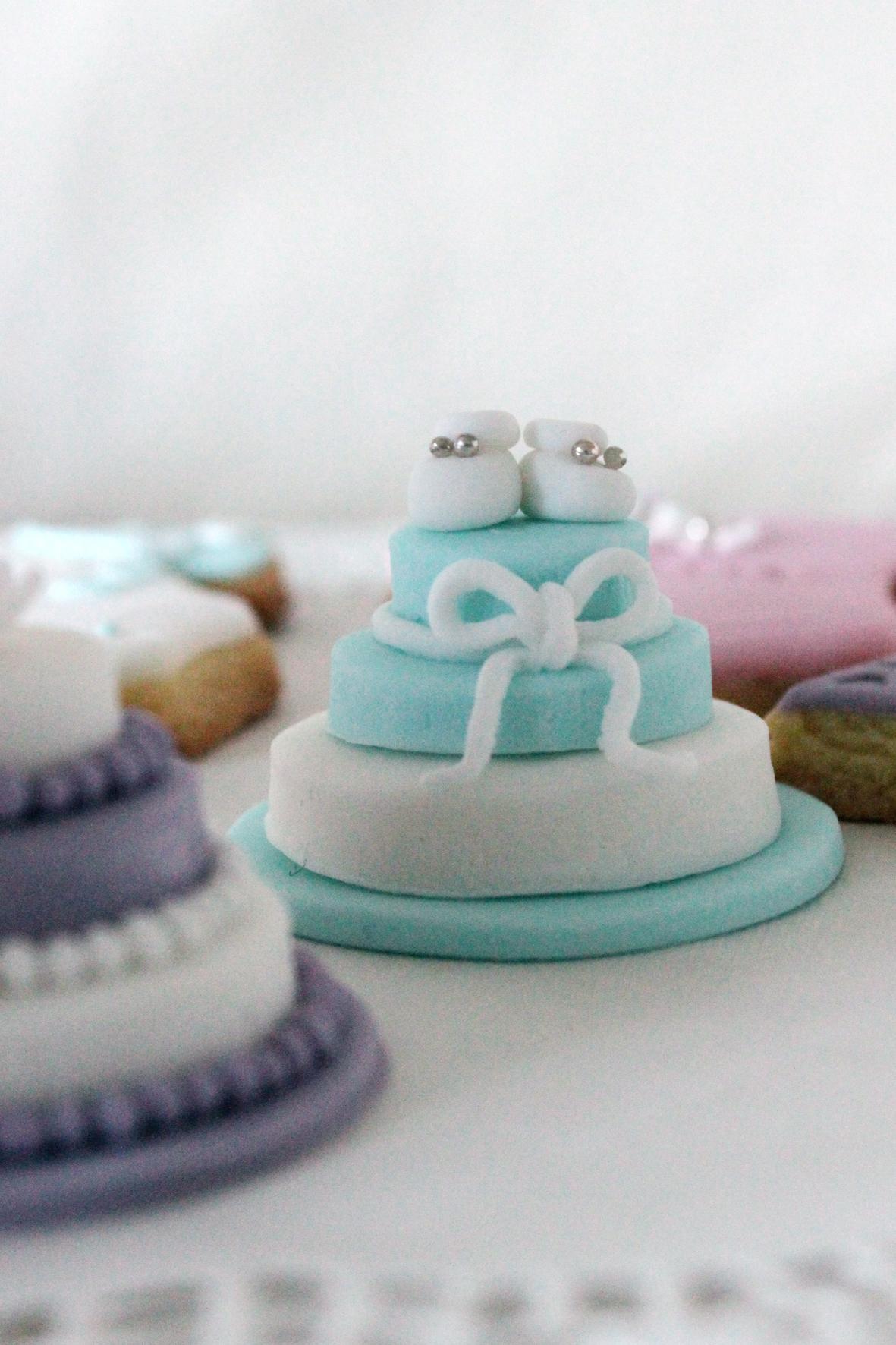 Mini cake battesimo