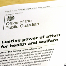 Lasting Power of Attorney - Health & Welfare