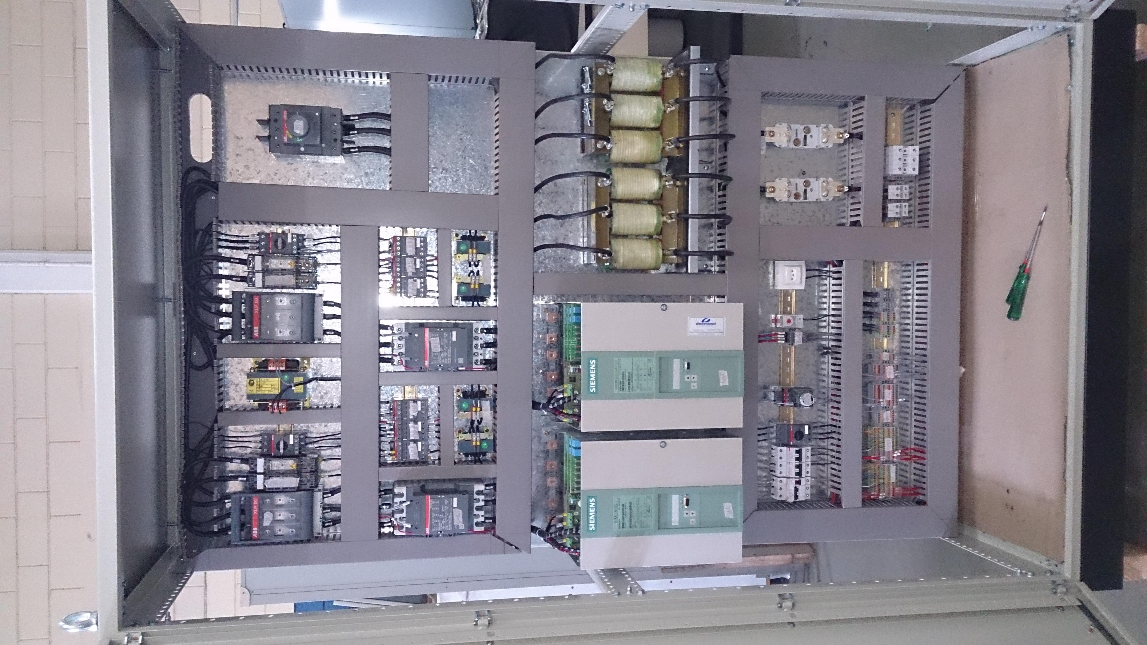 Painel Conversor DC Siemens