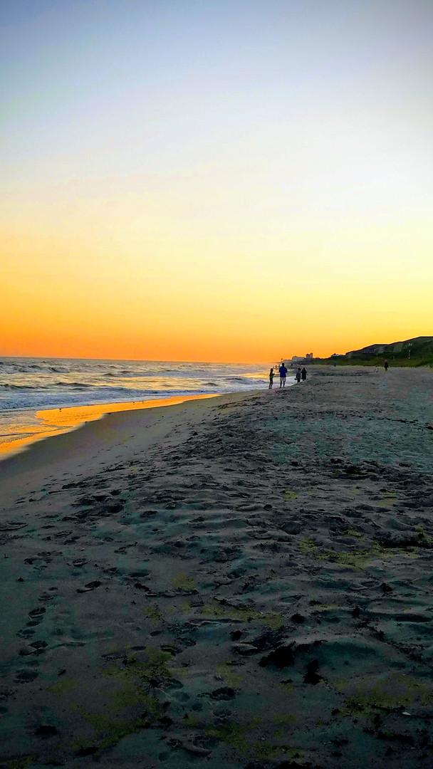 Pine Knoll Shores, NC Sunset
