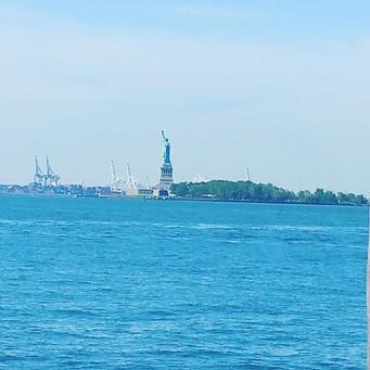 Lady Liberty! #statueofliberty #NYC