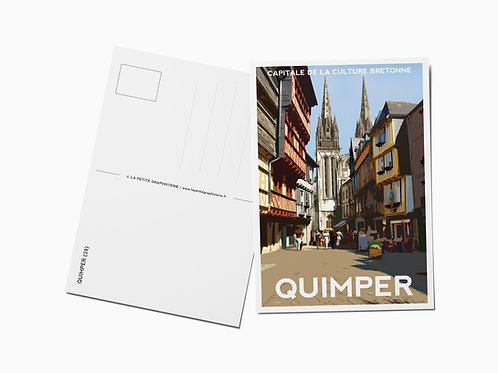 Carte postale QUIMPER