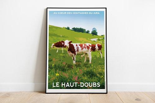 Affiche LE HAUT-DOUBS