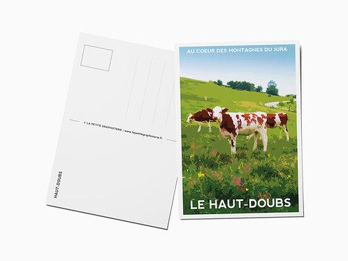Carte postale LE HAUT-DOUBS