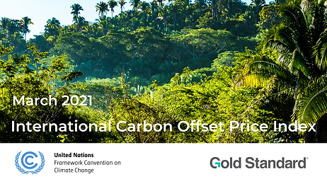 International Carbon Offset Price Index.