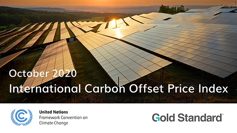 International Carbon Offset Price Index.