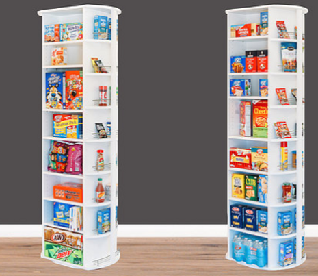 Spinning pantry corner unit by LazyLee