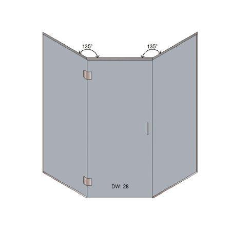 NEO Angle Estate Door