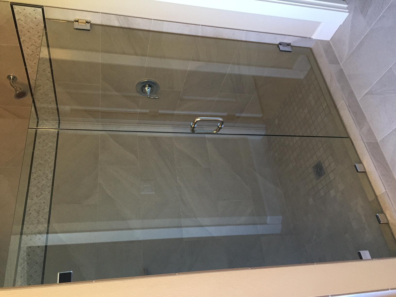 """3/8"""" Framelss Estate door & panel"""