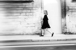 alice rushes by in a blur
