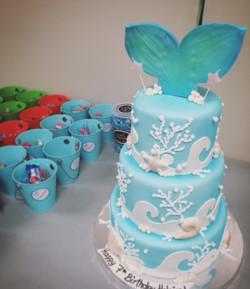 Make a Splash Birthday Cake