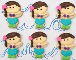 Mermaid Sugar Cookies