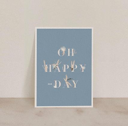Carte Oh happy (birth)day