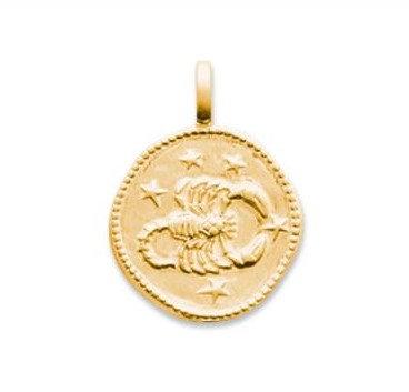 Collier Médaillon Zodiaque