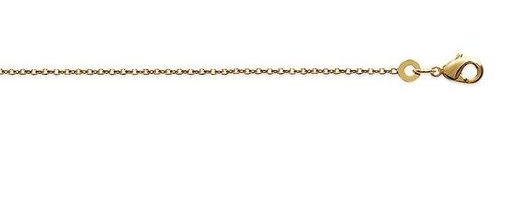 Chaîne simple plaqué or