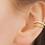 Thumbnail: Bague d'oreille chaîne