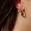 Thumbnail: Boucles d'oreilles Flowers with pearl