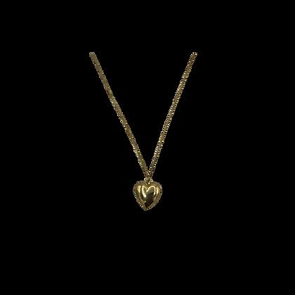 Collier Médaillon Coeur