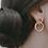Thumbnail: Boucle d'oreille Gemma