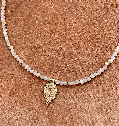 Collier Perles Nacre