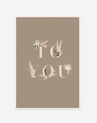 Carte To you