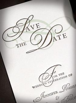 Plantation Letterpress Wedding