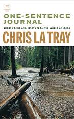 Chris La Tray, One-Sentence Journal, natue book, Montana