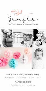 Benjis Photographie & Papierdesign