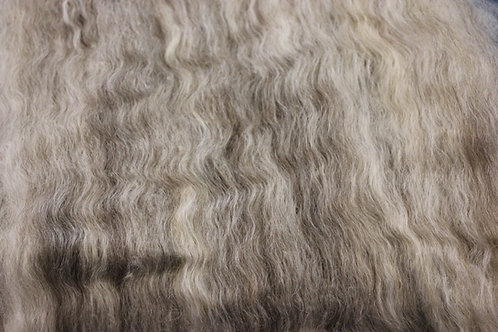 Silver Grey Cotswold Roving