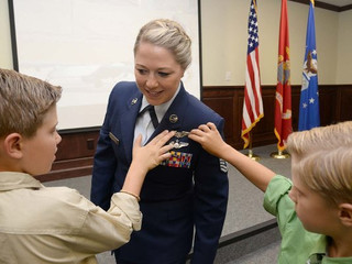 Air Force Names First Ever Enlisted Female Pilot. She Will Fly the RQ-4 Global Hawk Drone