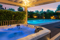 200714-598 Hot tub to pool dusk