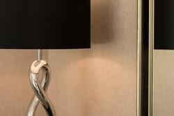170725-25 Lamp Wallpaper Mirror