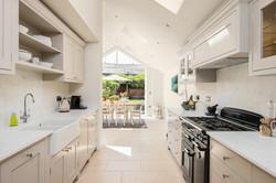 View through from kitchen