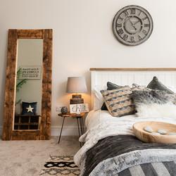 Hygge bedroom features