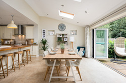 Dining table open plan