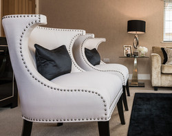170725-19 Curvy White Chairs