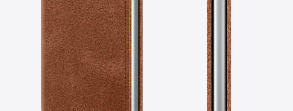 Secrid Slimwallet SV-Vintage Cognac Silver