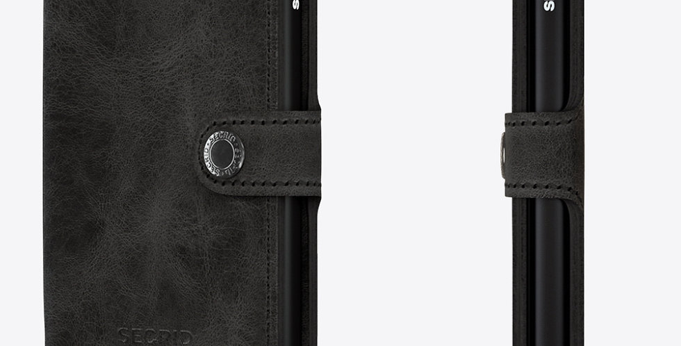 Secrid Miniwallet MV-Vintage Black