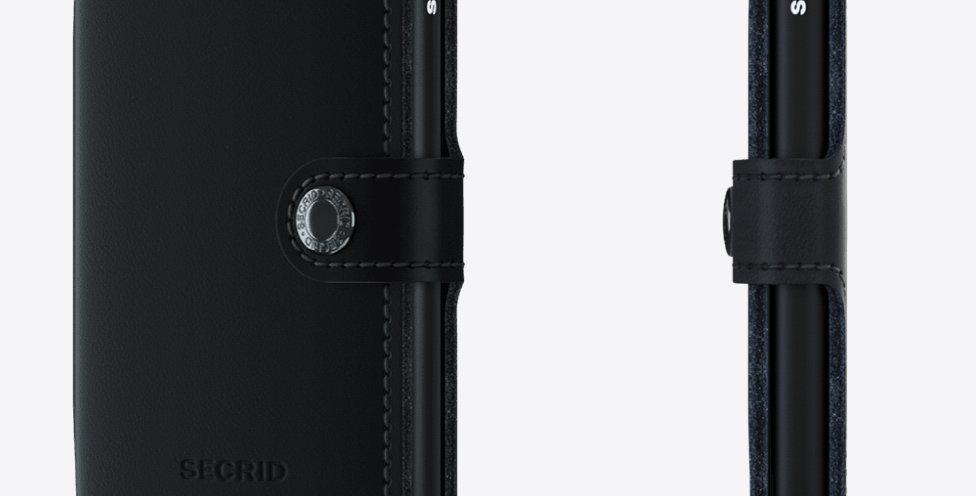 Secrid Miniwallet MM-Matte Black