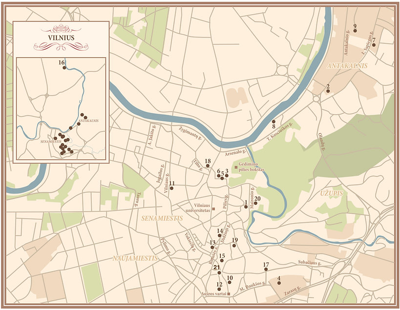 Tičinietiškas Vilnius