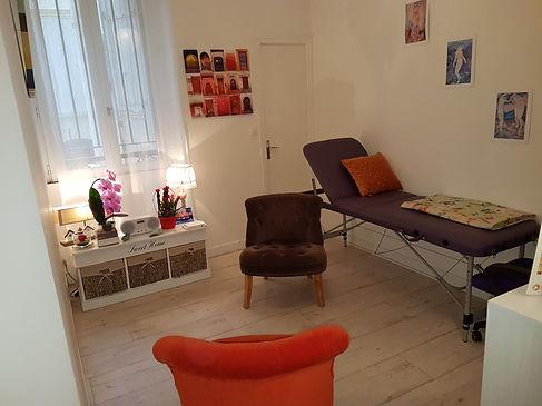 cabinet, Paris 14e, téléphone, RDV, prise, mail, adresse, bus, métro, formulaire, contact, espace, soin, confort, venir, bien-être