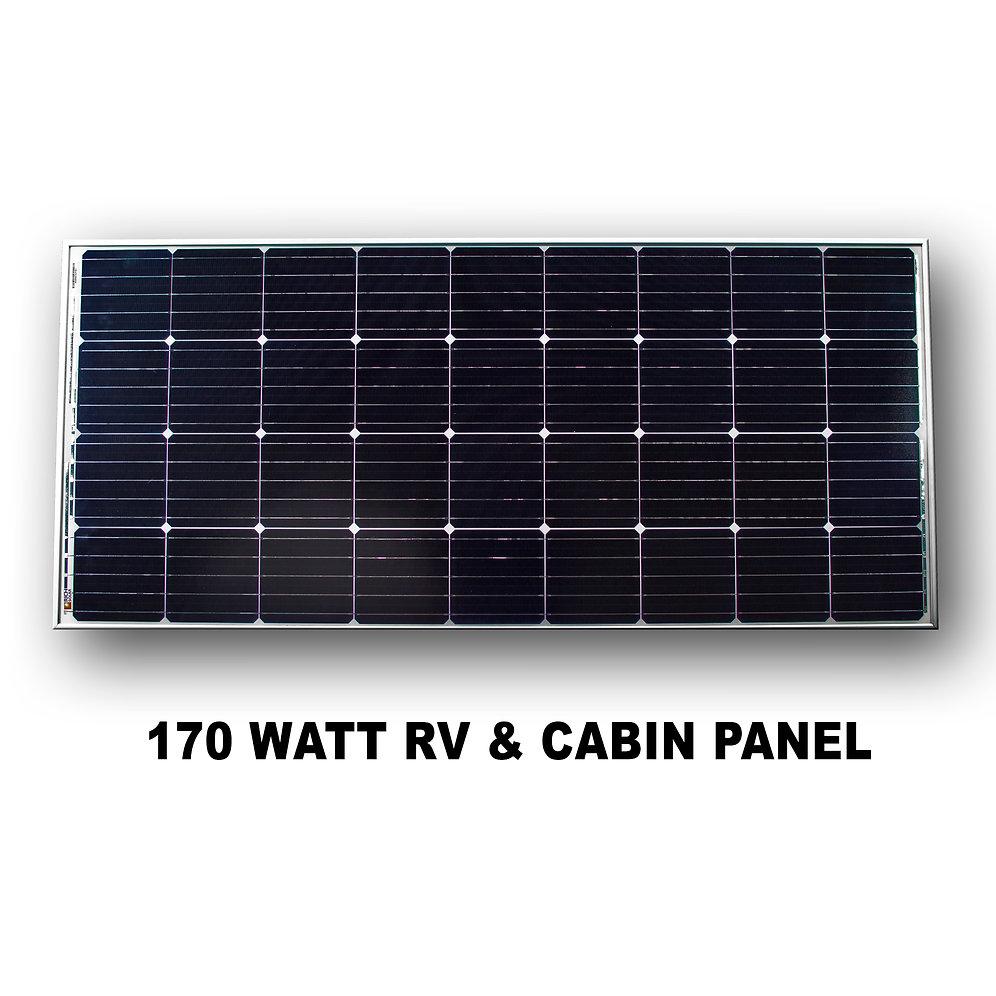 Solar Panel 170w Leisure Solar Ltd