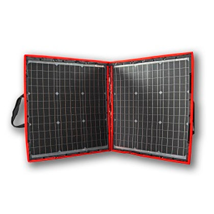 80W Flexible Portable Solar Panel with Charge Controller