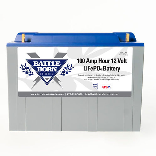 LiFePO4 Deep Cycle Battery