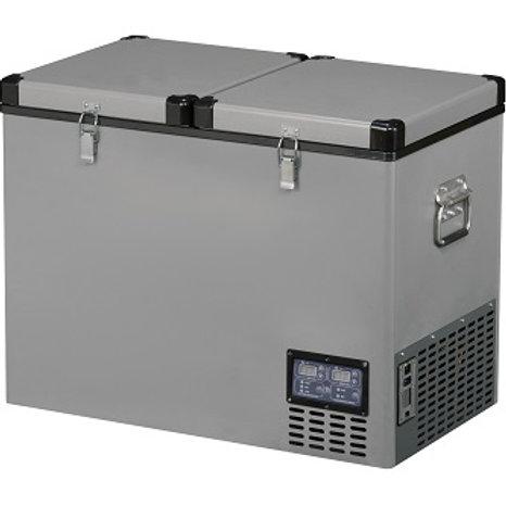 TB-92DD Double Door Portable 12V Fridge/Freezer