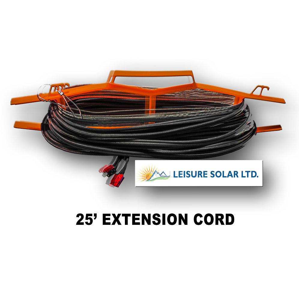 Ez Ptg 25ft Extension Cable For Solar Panels Leisure