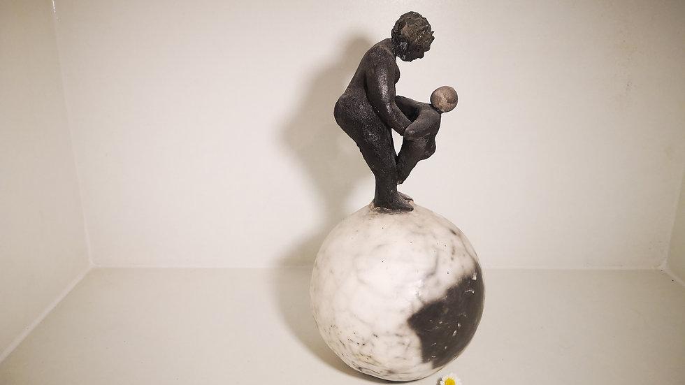 La femme et l'enfant